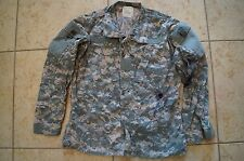 USED US Army ACU Jacket Top Military Issued Combat Uniform Small/Short A6 ink
