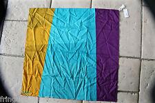 scarf scarf square multicolored 75 cm ERES alum ispa NEW/LABEL value