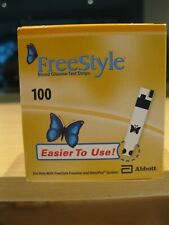 New Freestyle Test Strips 100ct 5/2021