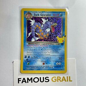 Dark Gyarados - 8/82 - Rare Holo Card - Pokemon Celebrations MINT