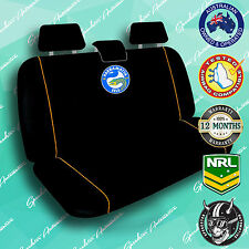 *NEW* PARRAMATTA EELS REAR, CAR BACK SEAT COVER, OFFICIAL NRL, UNIVERSAL SIZE!