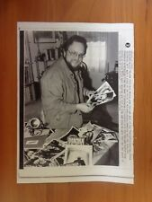 Vtg Wire Press Photo Actor And Producer Paul Ehlers Mad Man Ink & Steel Horror 1
