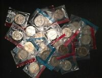 1968-1979 P, and D  Jefferson nickels in Mint Cello BU set Run US Coin Lot