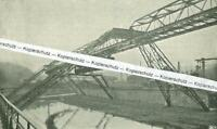 Barmen-Elberfeld - Die Schwebebahn - Wuppertal - um 1900                T 19-5