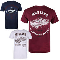 Ford Mustang - Petrol Heads - Official  - Mens - T-shirts - Sizes S-XXL