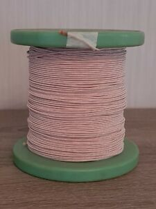 HF Litze 120 x 0,10mm Seide Kupferlitze litz wire  fils de litz 20m