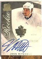 2008-09 Upper Deck The Cup Autograph Rookie Card John Mitchell RC /199 #76