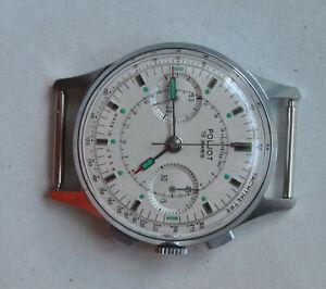 Chronograph Poljot 3017 STRELA Pilot Cosmonaut USSR Watch / Vintage Sekonda