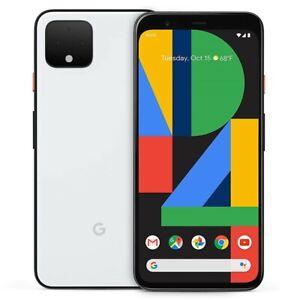 "Google Pixel 4 XL (64GB, 6GB) 6.3"" (GSM + CDMA) 4G LTE Unlocked (White)"