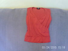 Womens Size 10 - Red Stretch Sleeveless Crop Top - Pilot