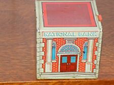 Wyandotte Toys Tin National Bank