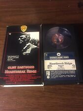 Warner Betamax NOT VHS Heartbreak Ridge 1986 Clint Eastwood War Drama Marines M+