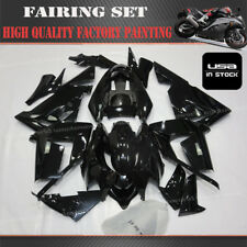 Professional Painting- ABS Fairing Kit For Kawasaki Ninja ZX10R 2004 2005 Black