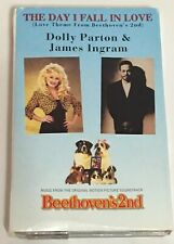 Beethoven's 2nd Movie The Day I Fall In Love Cassette Tape Single Dolly Parton