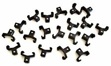 """20 GOLIATH INDUSTRIAL ABS 3/8"""" BLACK REPLACEMENT SOCKET RACK RAIL CLIPS SC38BL"""
