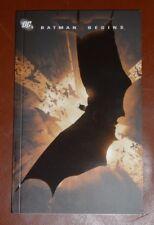 3 Stories That Inspired DC Comics BATMAN BEGINS Graphic Comic Book Paperback NEW