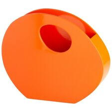 Cyan Design Mulholland Container, Orange Lacquer - 05506