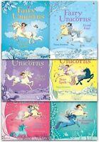 Usborne Fairy Unicorns by Zanna Davidson Magic Forest Collection 6 Books Set