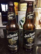JACK DANIELS 1866 CLASSIC AMBER LAGER BEER BOTTLES 2
