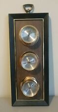 Springfield Instrument Company Vtg Barometer Thermometer Humidity Meter