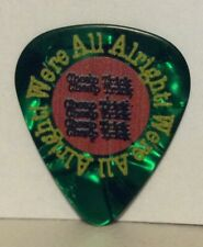 Rick Nielsen We'Re All Alright Tour 2019 Green Guitar Pick Cheap Trick Very Cool