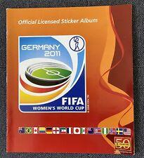 Panini WM 2011 Womens Komplettsatz mit Leeralbum.