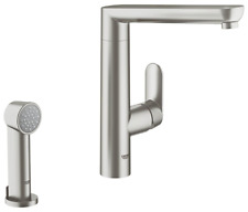 GROHE 32179DC0 K7 Single lever Kitchen Sink Mixer And Hand Spray 1/2″ Supersteel