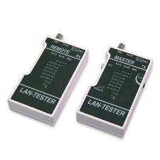 Pro Network LAN Ethernet Cable Continuity Tester Tool CAT5e/6 RJ45/RJ12/RJ11 New