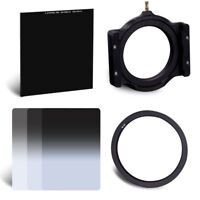 ND2 4 8+Square Glass ND1000 Filter +Holder+ Ring 67/72/77/82mm for Cokin Z