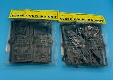2 X PACKS KEEN SYSTEMS OO GAUGE CLOSE COUPLING UNITS - NEW