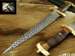 SUPERB HANDMADE STAINLESS STEEL KNIFE HUNTING DAGGER KNIFE (4871-5