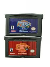 Nintendo Gameboy Advance gba the legend of zelda oracle of seasons and ages