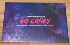 2PM 2 PM WORLD TOUR GO CRAZY IN SEOUL CONCERT OFFICIAL GOODS POSTCARD SET NEW