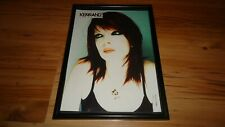 SHIRLEY MANSON/GARBAGE-framed picture