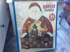Beautiful wooden advent calendar large used