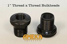 "1"" Bulkhead Fitting Thread X Thread Aquarium Pond High Quality by CPR Aquatic"