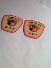 Vintage Beer Coaster Griesedieck Bros Times Two