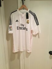 Mens SZ XL Adidas Climacool Real Madrid White Soccer Game Jersey. NWT. NOS.