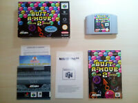 BUST A-MOVE ARCADE 2 EDITION NINTENDO 64 COMPLETE TESTED 100% works