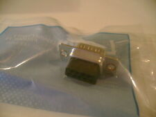 L-Com C&P9M Insertion Type D-Sub Connector, DB9 Male New in Bag