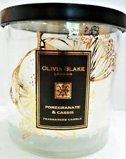 Olivia Blake Pomegeranate & Cassis 3wick Talk 515g Candle 🕯