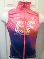 2020 RAPHA EF Pro Cycling Pro Team Rain Gilet Vest Wind Water Pink Small S / 2