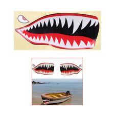 2xFlying Tigers Shark Teeth A-10 Warthog Decals Stickers Warhawk Fighter Jet New