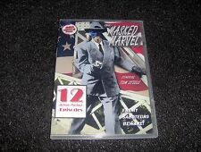 THE MASKED MARVEL CLIFFHANGER SERIAL 12 CHAPTERS 2 DVDS