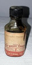 FORT BRAGG PHARMACY GLASS BOTTLE BENZOIN COMPOUND CALIFORNIA