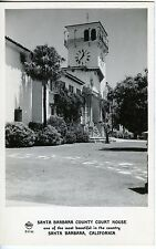 Vintage Photo Postcard Santa Barbara County Court House Uncirculated