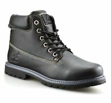 Mens Casual Walking Hiking Trail Work Boys Chukka Lace Up Ankle Boots Shoes Size