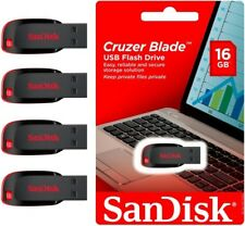 Sandisk CRUZER BLADE 16 GB USB Flash Pen Disk Thumb Drive MEMORY STICK NEW LOT4