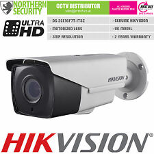 Hikvision 3MP 1080P hd-tvi turbo 2.8-12MM ir motorized lens cctv caméra de sécurité