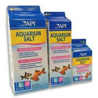 API Aquarium Tonic Salt Fish Health Booster 16oz 33oz 65oz Tropical Stress